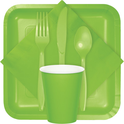 Fresh Lime Tableware & Solid Colors - 10