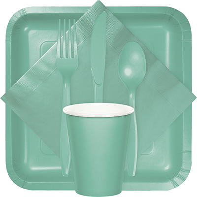Fresh Mint Tableware & Solid Colors - 10\
