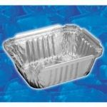 1OBL - 1lb Oblong Closable Pan W/ Closure Lip 2059