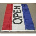 3X5OPFG - OPEN Flag 3 ft x 5 ft 100% Nylon