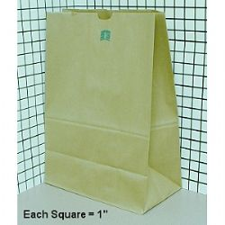 16751 - #1/6 75lb XHVY Grocery Bag, 80080 Bear